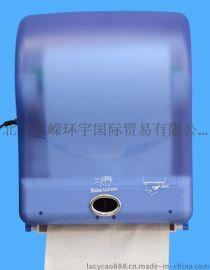 紫外光杀菌自动出纸机自动感应卷筒擦手纸纸架