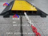 橡胶线槽过线桥 电线橡胶保护过线桥 武汉橡胶过线桥