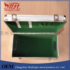 厂家直销铝合金工具箱 家用防爆药箱医疗箱  中型精密仪器箱铝箱