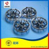 塑料CPVC材質A字型花環填料DN51泰勒花環