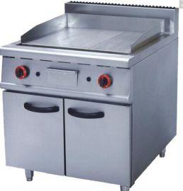 江苏供应直销带柜子 落地扒炉 半坑半平 扒炉 厨房设备