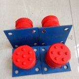 廠家直供單雙樑行車碰頭緩衝器 JHQ-C-10聚氨酯緩衝器 直徑160*125 橡膠緩衝塊 電梯用緩衝裝置