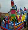 河南商丘儿童充气城堡厂家直销充气滑梯定做实用