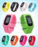 硅胶手环计步器电子计步器手表户外运动多功能计步器