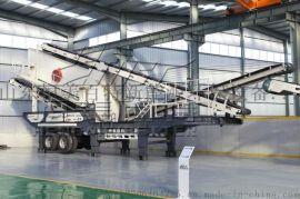 移动式建筑垃圾破碎站轮胎式移动式破碎站可分期付款