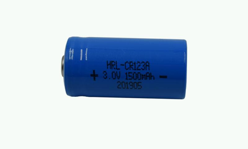 鋰錳電池CR123A 3.0V 1500mAh