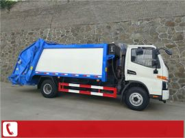 3吨垃圾压缩车厂家 3吨压缩垃圾车