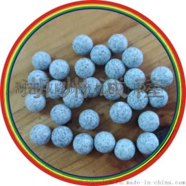 圆球形棕刚玉研磨石,优质棕刚玉抛光石生产