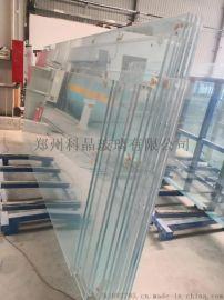 太原19毫米超厚钢化玻璃汽车展厅玻璃