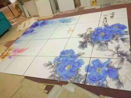 瓷砖山东瓷砖背景墙UV平板万能打印机,玻璃水晶彩印机,uv平板打印机