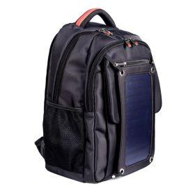 户外运动双肩电脑包 商务太阳能充电背包