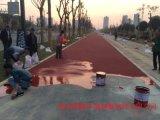 咸陽彩色陶瓷顆粒防滑路面廠家