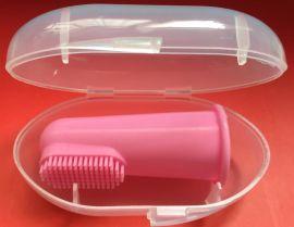 硅胶手指牙刷 硅胶指套牙刷