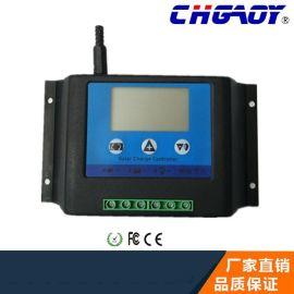 高品质防反接太阳能控制器 液晶显示,12V/24V智能识别 20A/30A
