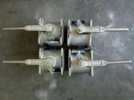 不锈钢槽车球阀、方形槽车球阀、罐车专用球阀Q41F