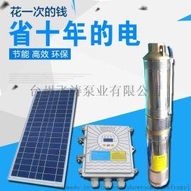 光伏12V24V48V直流无刷深井泵太阳能泵