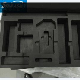 直销EVA精雕成型海绵包装内托 EVA压纹雕纹彩色海绵包装盒