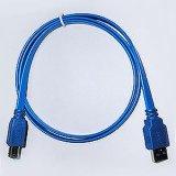 USB 3.0 CABLE> USB3.0 AM/BM (扁平線)