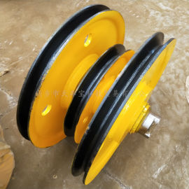 专业生产32吨滑轮组起升滑轮组滑车滑轮吊环式滑轮组