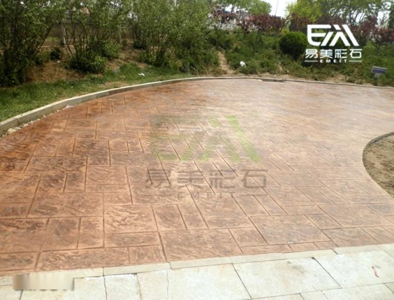 水泥压花地坪材料 源头厂家销售