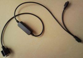 RS232串口转PS2键盘口转换线