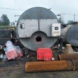 二手1吨卧式燃气燃油蒸汽锅炉