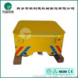 1T小型蓄电池轨道车厂家定制小吨位电动搬运车
