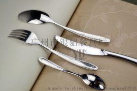 银貂不锈钢餐具刀叉勺现货供应