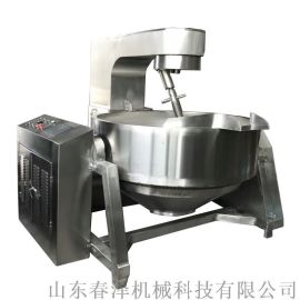 燃气加热行星搅拌夹层锅 360度然气辣椒酱行星炒锅