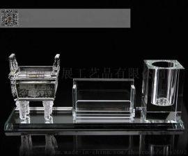 协会礼品定制,工商联成立纪念品,水晶商务摆件礼品