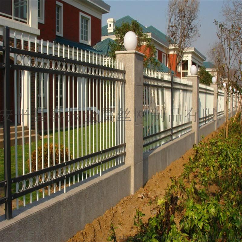 院墙栏杆栅栏@桓洞院墙锌钢护栏@现货锌钢院墙护栏