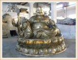 銅雕彌勒佛廠家,正圓鑄銅彌勒佛像雕塑廠家