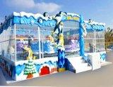 戶外大型遊樂設備-回本快的冰雪噴球車遊樂設備