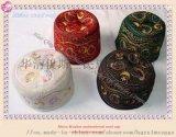 非洲刺绣花羊毛帽  wool cap