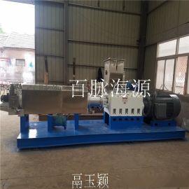 大型预糊化淀粉膨化机 双螺杆玉米预糊化淀粉膨化机