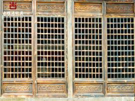 成都仿古门窗厂,支持定制门窗生产周期15天左右