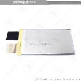 高电压模型锂电芯554283 2200mAh