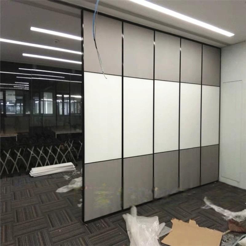 辦公室活動隔斷屏風 會議室活動隔斷隔音移動摺疊門