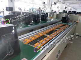 佛山电烤箱老化线广州空气炸锅老化线咖啡机环形装配线