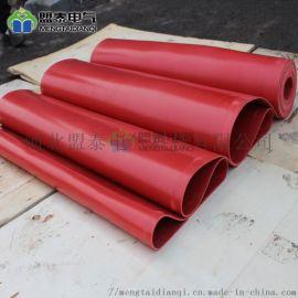 配电房红色绝缘橡胶板配电室10kv绝缘橡胶垫高压绝缘胶皮5mm地毯