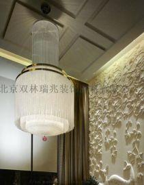 直銷定製水晶燈工程吊燈客廳臥室簡約燈