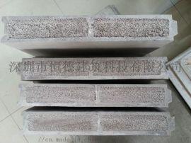 水泥发泡轻质复合隔墙板——防火,隔音,防潮