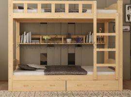 贵州学生床实木上下床松木家具厂家定制