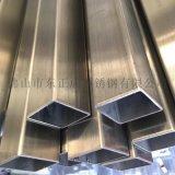 惠州不鏽鋼方管,拉絲不鏽鋼方管貨架