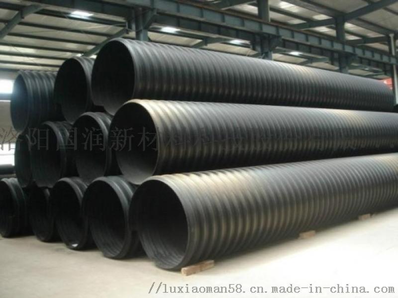 大口徑鋼帶排污管 1000鋼帶波紋管