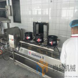 新一代尚品薄脆油炸机设备+脆饼油炸机厂家