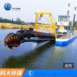 广西12寸小型绞吸式挖泥船 清淤设备