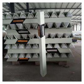預制警示牌 靖江玻璃鋼三角形標志樁