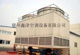 山东鑫泽工业型玻璃钢逆流式方型冷却塔安装及维修价格