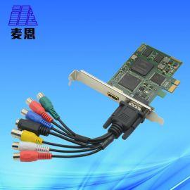 麦恩 两路HDMI高清采集卡, 视频采集卡, 支持1080p输入